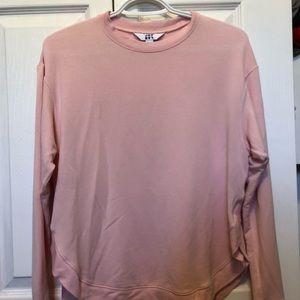 Ultra soft pink sweatshirt